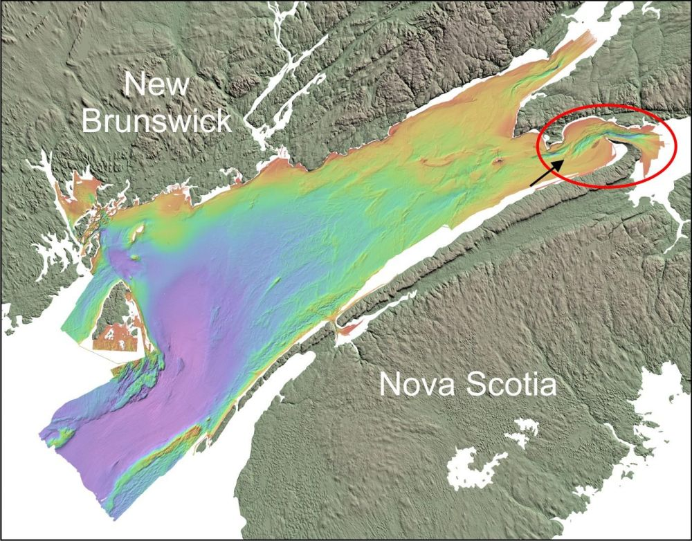 Fundy Energy Research Network Discovering the Seafloor of the Bay
